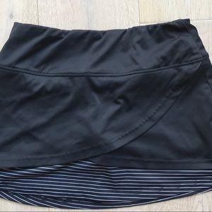 Bolle tech tennis golf skirt skort Lg new